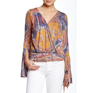 Free People | Fiona Bell Sleeve Top